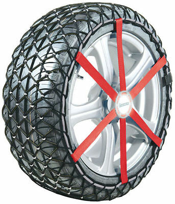 "Michelin Easy Grip Composite Snow Chains L13 14"" 15"" 16"" Easy fit snow grips NEW"