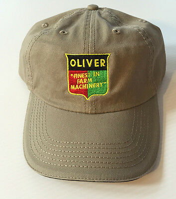 OLIVER TRACTOR ball cap Khaki FREE SHIPPING