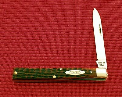 CASE XX USA 6185 Red Bone Physician Doctors Knife 1965/1969 No Dots Super Nice