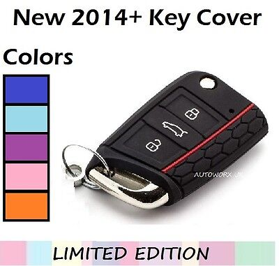 SKODA Octavia Key Cover FOB Case Shell Protector Remote 3 RS New 2014 2015 H