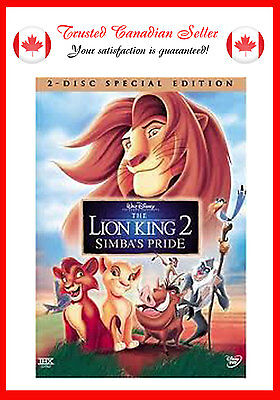 The Lion King 2: Simba's Pride - Special Edition (DVD, 2004, 2-Disc Set)