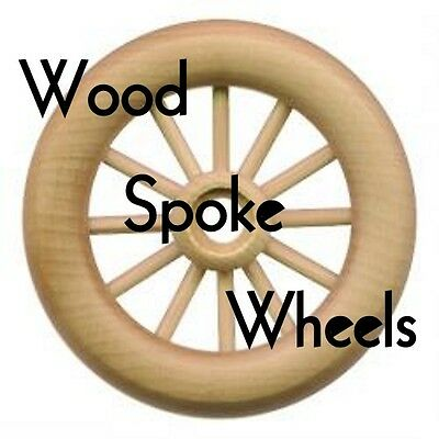 Wood Wheels w/ Spokes ~ Antique Toys Wagons Trains { Nine Sizes! } ~ by PLD