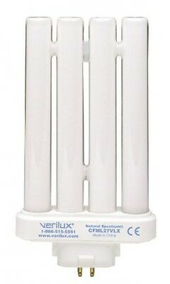 verilux CFML27VLX Natural Spectrum Replacement Bulb, 27 Watts, New