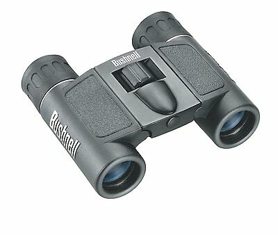 Bushnell Powerview 8x21 Compact Folding Roof Prism Binocular (Black), New