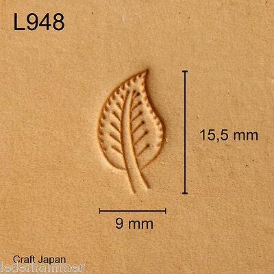 Punziereisen, Lederstempel, Punzierstempel, Leather Stamp, L948 - Craft Japan