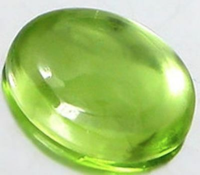 Peridot Natural Apple Green Oval Cabochon (5x3mm - 11x9mm) Loose Gemstones