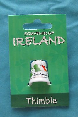 NWT Collectible Souvenir of Ireland Thimble by Allieo
