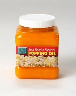 Wabash Valley Farms Real Theatre Popcorn Popping Oil, New, Free Shipping