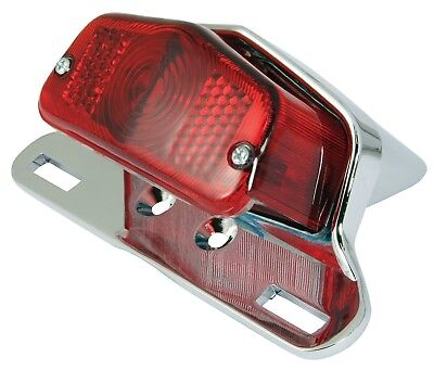 New Universal Lucas Type Rear Stop/Tail Motorcycle Light - Complete Unit 12V 21W