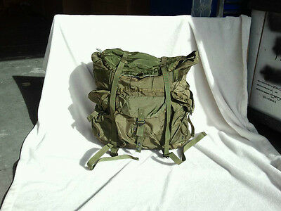 5 LARGE OD Green ALICE COMBAT LC-1 Field Pack US Issue Good/Very Good