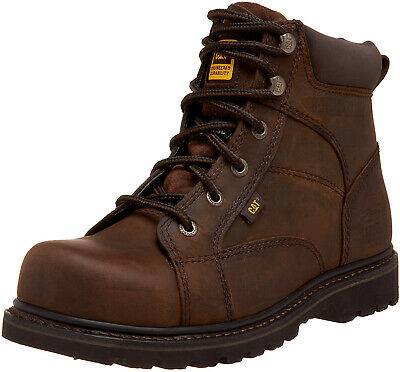 Caterpillar  WHISTON  ST  Mens Steel Toe Work and Safety  Brown Leather Boots