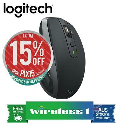 Brand New Logitech MX Anywhere 2S Wireless Mobile Mouse Graphite