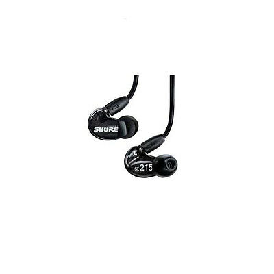 Shure SE215 - SE215-CL Clear Earphones  Dynamic MicroDriver Sound Isolating H...