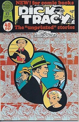 """Dick Tracy The """"unprinted"""" stories Number 3 January 1988 Blackthorne  USED"""