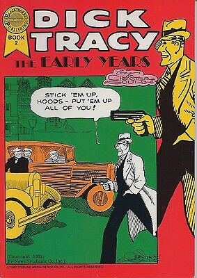 Dick Tracy The Early Years Book 2 October 1987 Blackthorne  USED