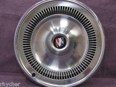 """Vintage 1960's to1970's Buick Wheel Covers Set of 4 with 2 rings. Very clean 14"""""""