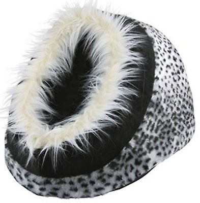 Cat Kitten Warm Cosy Cave Bed Igloo Trixie Minou Cat Bed Snow Leopard 36303