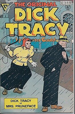 The Original Dick Tracy Number 1 September 1990 Gladstone USED