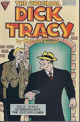 The Original Dick Tracy Number 3 January 1991 Gladstone USED