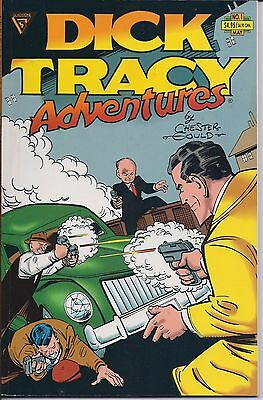 Dick Tracy Adventures Number 1, May 1991 Gladstone USED