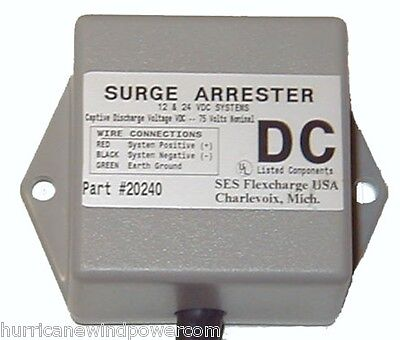 Flexcharge SA1224DC  DC Surge Arrester 12-24 Volts