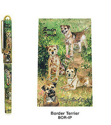 Best Friends by Ruth Maystead NEW Dog Pen Border Terrier