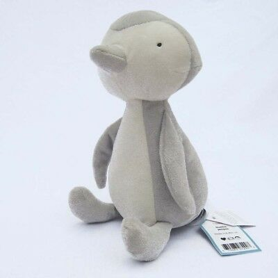 Jellycat: NEW Thumble Grey Penguin Plush Toy (Retired V/Rare) Safe from Birth