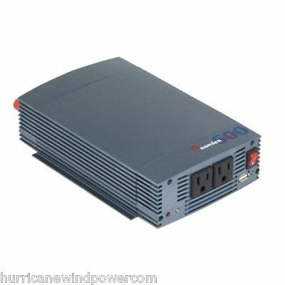 Samlex SSW 600 12A | 600 Watt Pure Sine Wave Inverter, 12V