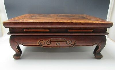 A Chinese Antique 38-inch Wood Narrow Table / Lobby Table