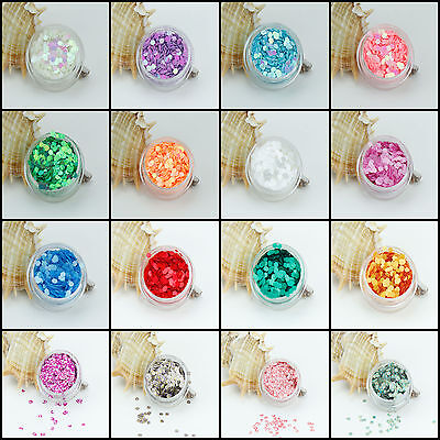 Chunky Hexagon Mylar Ice Flakes Nail Art Glitter Festival Tattoo Face Painting