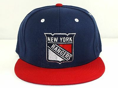 New York Rangers Nhl Adult Flex Fitted Hat Pre Shape Brim New Cap By Zephyr G34