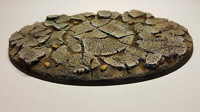 Xx-Large Oval Imperial Knight Titan  Resin Base Holly Ground Warhammer 40K