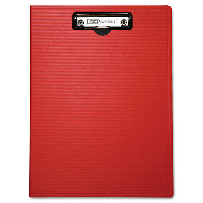 Portfolio Clipboard With Low-Profile Clip, 1/2'' Capacity, 8 1/2 x 11, Red