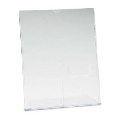 Superior Image Sign Holder With Pocket, 8-1/2w x 11h, Clear