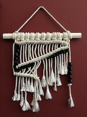"Wall Decoration Macramé  –""Z"""