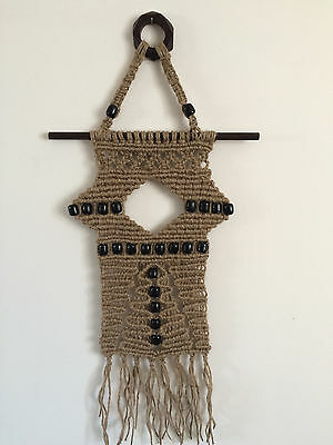 "Wall Decoration Macramé  ––  ""Luxury """
