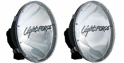 Genuine Lightforce 240 Xgt Clear Driving Spot Light Covers ***brand New***