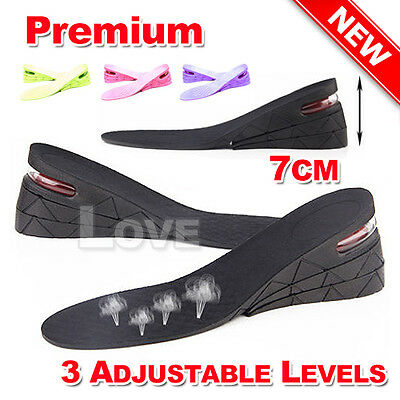 OZ New Shoes Air Cushion Insert Increase Height Insoles Taller Heel Gel Lifts