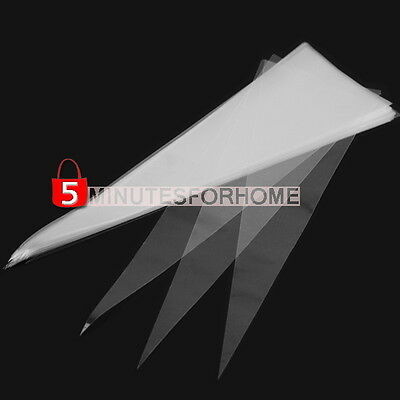 50 Pcs Cone Clear Candy Birthday Party Gifts Display Cellophane Cello Treat Bags