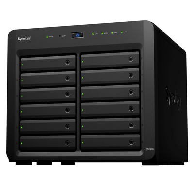 Synology DS2419+ 4GB 12 Bays Quad Core NAS - Diskless