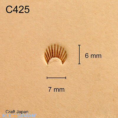 Punziereisen, Lederstempel, Punzierstempel, Leather Stamp, C425 - Craft Japan