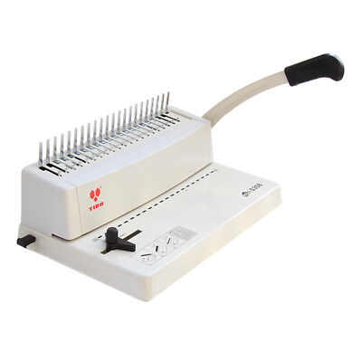 BN A4 Plastic Comb Binder Binding Machine 21 Ring 250 Page