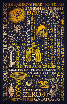 Smashing Pumpkins | Mellon Collie Dark | Typography Art Poster (Int'l Shipping)
