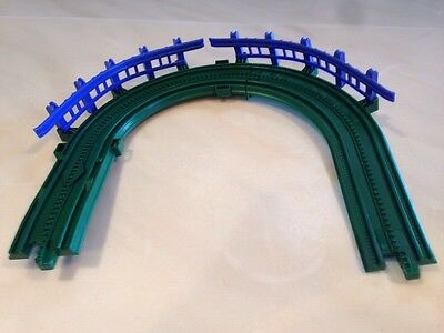 Geotrax Grand Central Train Station Replacement Green Curve Track Guard Rail