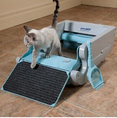 Littermaid Classic Self-Cleaning Litter Box Automatic Cat Litterbox Holder -NEW