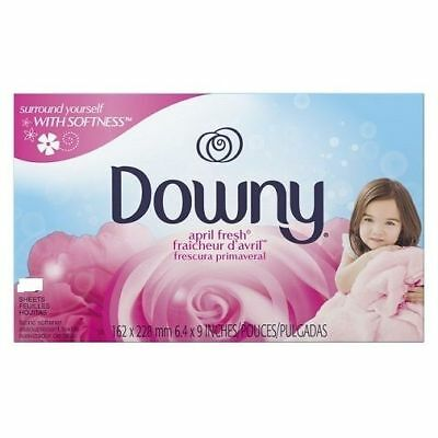 Downy April Fresh Dryer Sheets Fabric Softener 105 Ct Box