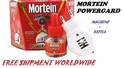 Mortein Powerguard Mosquito Repellant Killing / Killer Refill Liquid Kit Machine