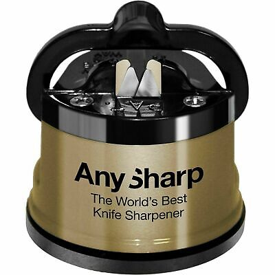 AnySharp Global GOLD World's Best Knife Sharpener Brand New Genuine UK Stock