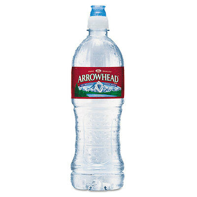 Natural Spring Water, 23.6 oz Bottle, 24 Bottles/Carton