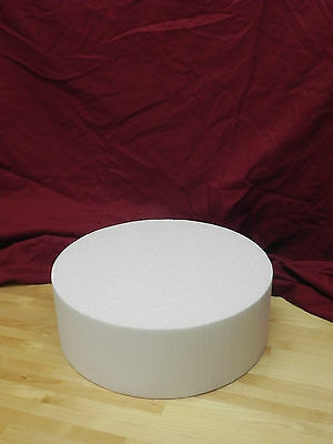 "(6 Pack)Cake Dummies - 12"" Round or Square - 4"" Height"